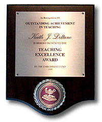 Award for teaching reading to at risk students